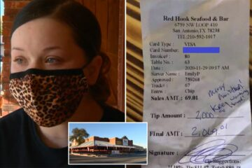 Waitress Who Was Denied $2,000 Tip Got Paid by Her Boss
