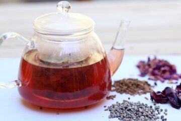Chasteberry Tea: The Ideal Tea for Ladies; Relieves PMS & Menopause Symptoms