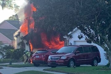 Real Life Hero: Amazon Driver Runs inside a Burning Home to Save a Trapped Man