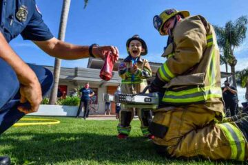 Brave 4-Year-Old Boy Saves His Brother from Drowning-They Name Him Honorary FF Medic