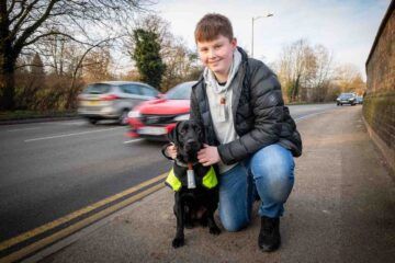 This Teen & His Dog Are Vital in the Fight against Air Pollution; Here's Why