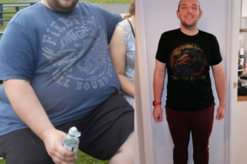 In 15 Months, this Dad Lost 228 Pounds & Runs Marathons Today to Stay Healthy for His Children