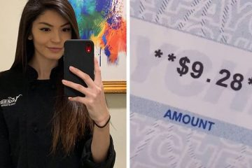 Mom Shares Her $9.28 Pay Check after Working for 70 Hours as a Waitress: People Had Mixed Feelings