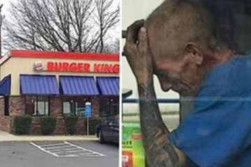 Homeless Man Asked a Burger King Worker what He can Get for $0.50