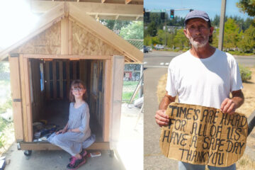 At the age of 9, this Girl Started Building Tiny Homes for the Homeless