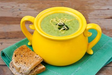 The Secret to Making a Bowl of Delicious, Creamy & Anti-Cancer Broccoli Soup