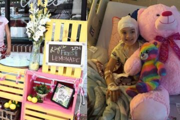 7-Year-Old Girl Sells Lemonade to Pay for Her Own Brain Surgeries: She Says She Hopes She Makes It