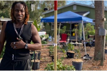 Florida Man Used His Stimulus Check to Grow a Garden & Feed His Community