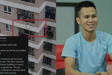 Hero Delivery Driver Saved a Toddler Falling from 12 Storey Balcony