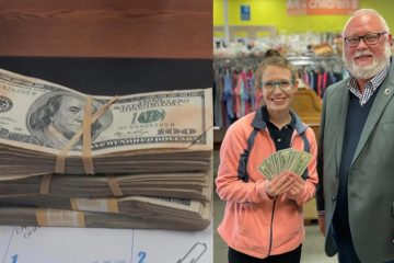 A Oklahoma Goodwill Employee Finds $42K in Donated Clothes; Her Integrity Paid Off
