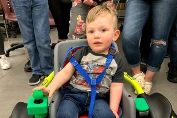 2-Year-Old Needed a $20K Wheelchair His Parents Couldn't Afford so this High School Robotics Team Builds Him One