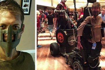 Student Transforms His Wheelchair into a Badass Mad Max Cosplay