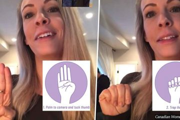 This Is the International Hand Signal for 'Help Me' & Everyone Should Know It