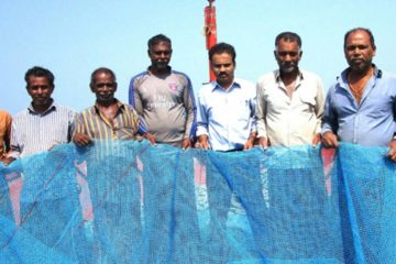 How Indian Fisherman Are Diverting Catch of Ocean Plastic to Be Repurposed for Building Roads