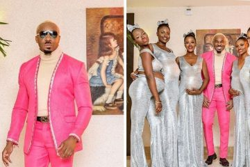 Man Comes at a Nigerian Wedding with 6 Pregnant Women, all Carrying His Children