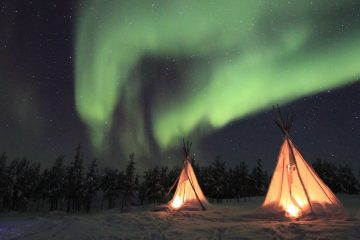 Sounds from the Northern Lights