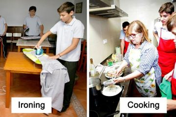 Spanish School Teaches Male Students How to Do Household Chores in an Effort to End Gender Inequality