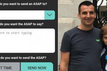 Dad Makes an App that Locks Kids' Phones until They Message their Parents back