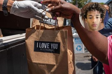 Jaden Smith (Son of Will Smith) Opens a Vegan Restaurant & Offers Free Food to Homeless People