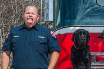 Sheldon the Dog Flunked Out of Service Training & Became a Pro at Sniffing Out Arson