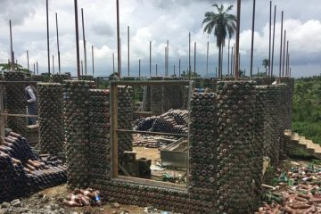 Nigerian Homes Built from Thousands of Plastic Bottles: Stronger than Brick?