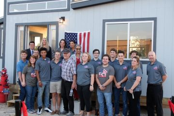 Our Hope: High School Students Are Building Tiny Homes to Help Out Homeless Veterans