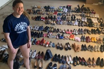 17-Year-Old Girl Collects 30,000 Pairs of Shoes & Donates them to the Homeless