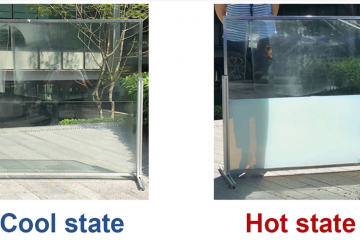 Impressive: The 'Liquid Window' Significantly Decreases the Energy Consumption in Buildings