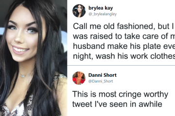 """Woman Blasted on Twitter for Saying She Is """"Raised to Take Care"""" of Her Husband"""