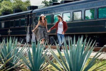 Travel through Mexico on an All-You-Can-Drink Luxury Tequila Train