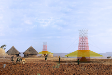 Impressive: the Bamboo Tower Produces Water from the Air