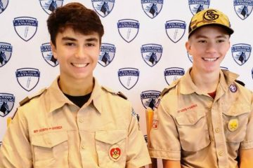 Two Boy Scouts Save Drowning Woman while Cycling along the Missouri Floodwaters