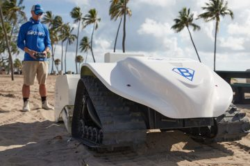 This New Solar-Power Beach-Cleaning Robot Cleans Up the Tiniest Plastic Debris 30X Faster than Humans
