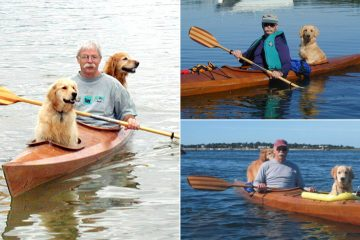 Man Builds a Special Kayak to Take His Dogs on Adventures
