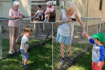 A Friendship like no Other: Learn How a Toddler Befriended His 99-Year-Old Neighbor
