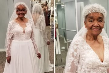 94-Year-Old Woman Wears Her Dream Wedding Dress 70 Years after Being Denied Entry to a Bridal Shop