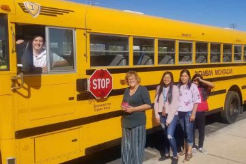 Amazing High Schooler Buys a Bus & Fills It with Supplies for Mexican Students in Need