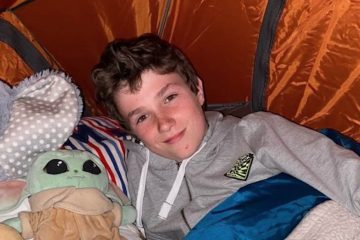 Boy Raises $700,000 for Hospice by Camping Out for 500 Nights after a Dying Man Gave Him a Tent