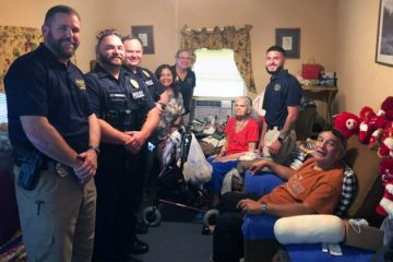 Group of Police Officers Buys New Fridge & Groceries for these Elderly Women in Need