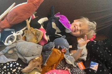 Strangers Flood Boy with Stuffed Sea Animals after Learning His Mom Can't Afford One