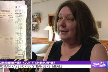Woman Pays for 60 Strangers' Meals at this Pennsylvania Diner