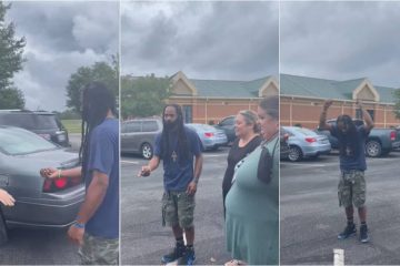 School Faculty Surprise Custodian with a Car so He no Longer Has to Walk to Work