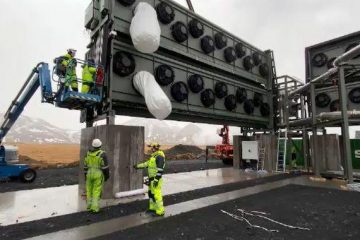 World's Biggest Factory to Suck the CO2 from the Sky & Store it for Millions of Years Opened Up on Iceland