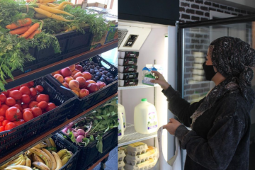 """Charity Rescued Plenty of Food from Ending Up in Landfills & Opens a """"Pay What You Feel"""" Grocery Store for those in Need"""